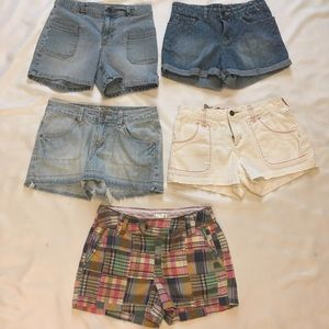 Other - Bundle of 5 Pairs Girl Size 14 Shorts